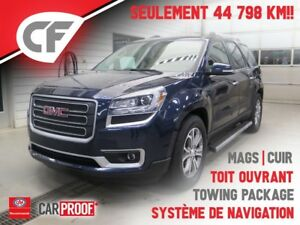 2015 GMC Acadia SLT - GPS - TOWING PACKAGE - TOIT OUVRANT