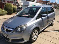 Cheap Vauxhall zafira 2007, cheap seven seater car £700