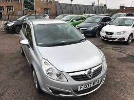 Vauxhall Corsa 1.2 petrol five door hatchback