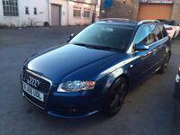Audi A4 Sline (170hp) not golf, bmw, vauxhall, mercedes, van