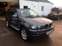 "Low Miles BMW X5 3.0 Sport 84k, History 12 months mot full service history 19"" alloys LOVELY EXAMPLE"