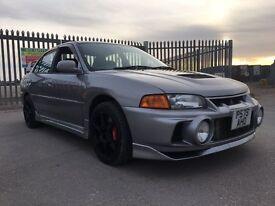 mitsubishi evo 4 with, evo 6 brakes, evo 5 engine and evo 7 turbo. low miles engine.