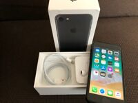 iPhone 7 - 128gb - Black - Unlocked - Boxed - Receipt - Used
