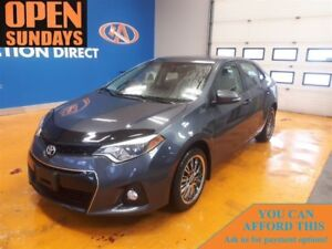 2014 Toyota Corolla S LEATHER/CLOTH! NEW TIRES!