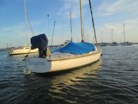 "Kinsman 20ft Drop Keel yacht ""K21""Peregrine"