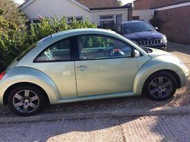 VW Green Beetle, 12 months MOT, cambelt change!