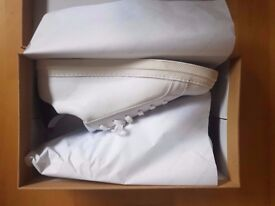 NEW Oliver Spencer Ambleside low white trainers £100 UK Sz 10