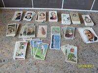 Job lot of Cigarette Cards