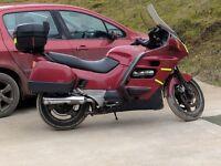 Honda pan European great runner needs TLC good work bike or tidy it up. Rides great selling cheap.