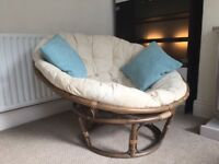 Vintage Snuggle Chairs