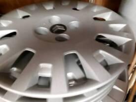 Wheel trims for citroen nemo
