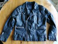 Topman real leather jacket. Excellent condition
