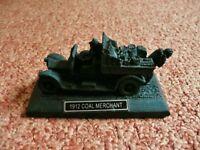 1912 Coal Merchant Coal model Ornament Coal Truck and Coalmen Figures