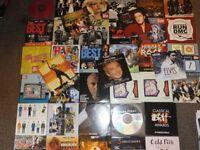 JOB LOT OF ( 39 CDs & DVDs )