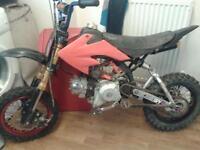 two pit bikes