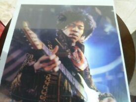 Jimmy Hendrix Poster in Frame Delivery Available AW014