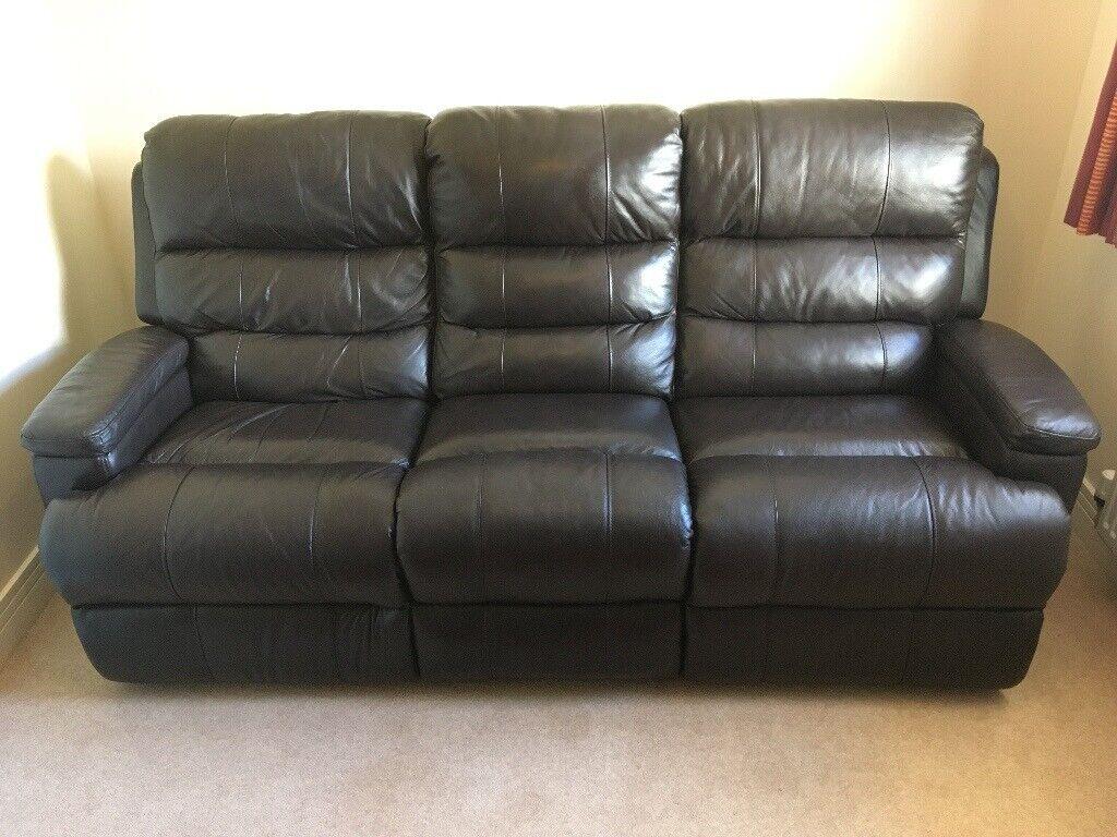 3 Seater Reclining Sofa Sofology
