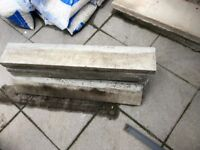 Concrete paving edges