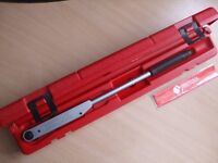 SUPERB QUALITY AVT 600 TORQUE WRENCH MADE BY BRITOOL - 3/8 INCH DRIVE 12 - 68 Nm / 10 - 50 lbf ft
