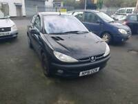 51 PLATE PEUGEOT 206. 1.6 PETROL. DRIVES WELL. PX TO CLEAR