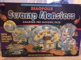Seaopolis Swamp Monsters amazing pre historic pets