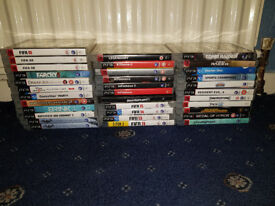 34 Playstation 3 Games (GTA 5, Batman, Resident Evil, Farcry, Tomb Raider, Need For Speed)