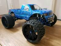 Traxxas E Maxx Brushless. Highly Upgraded. Alloy. RPM. 6s. Integy. Rc Car Truck