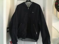 Men's Lacoste reversible bomber jacket