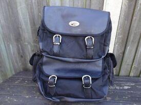 Superb USA Saddlemen sissy bag and saddlebags