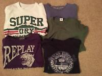 Super Dry - Replay & Henry Lloyd T-Shirts
