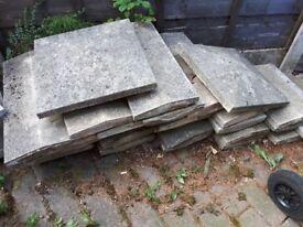 Used coping stones