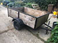 Trailer 6x4 ideal building trailer