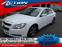2009 CHEVROLET MALIBU LT LT2,AUTO 6V. AIR,4 CYL,BLUETOOTH
