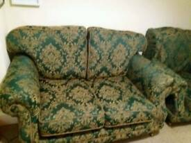 2 seater sofa and armchair