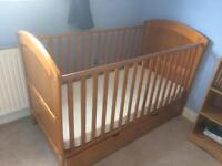 Cot bed (nearly new!)
