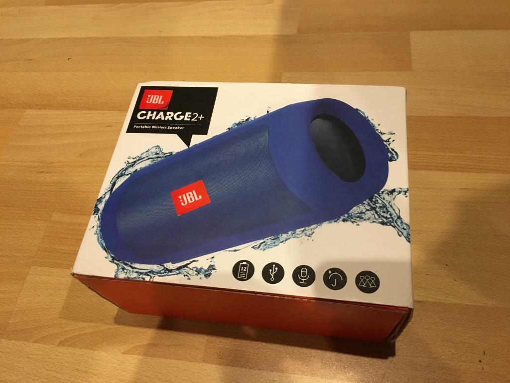 JBL Charge 2+ Bluetooth Mobile Phone Speaker blue jbl two plus