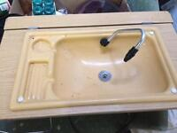 Caravan Toilet Room Sink. Ideal camper conversion sink