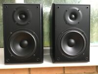 1 pair * Eltax Millennium 100 Bookshelf Speakers, Black, Music Power 100W, 45Hz -20kHz, RRP £99.95