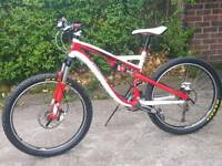 Specialized camber fsr comp mountain bike