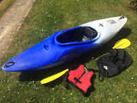 Pyranah G3 275 Kayak and kit for sale