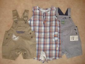dungarees size 3-6 months