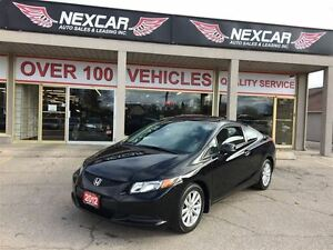2012 Honda Civic EX C0UPE 5 SPEED A/C SUNROOF 111K