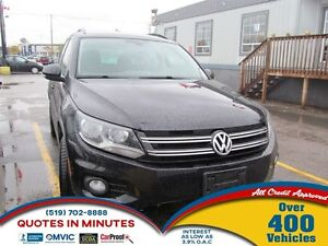 2016 Volkswagen Tiguan Special Edition | AWD | CAM | ONE OWNER |