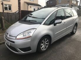 2007 citroen c4 Grand Picasso 7 seater hdi