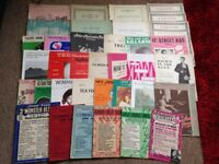 Job Lot - Large Collection of Sheet Music