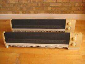 HONEYWELL HZ-514 Electric Portable Skirting Convection Baseboard Heaters 1500W Thermostat