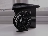 ORVIS CLEARWATER 11 large arbour fly reel mint unused