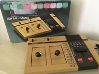 1978 Vintage Polycon 4010 Pong Games Console in Original Box - Mint Condition & Full Working Order