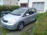 Toyota Verso Corolla