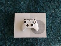 Xbox one s white with controller boxed